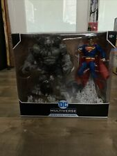 DC Multiverse Superman vs. Batman Earth - Dark Knights Metal Mcfarlane Toys