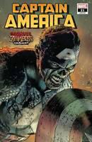 Captain America #21 Zombies Variant (2020 Marvel Comics)  Zircher Cover
