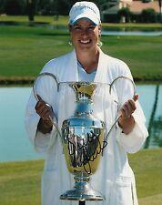 BRITTANY LINCICOME signed *LPGA* WOMEN'S GOLF 8X10 photo W/COA SOLHEIM CUP #1