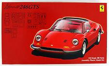 Fujimi RS-113 Ferrari Dino 246GTS (Spider) 1/24 Scale Kit