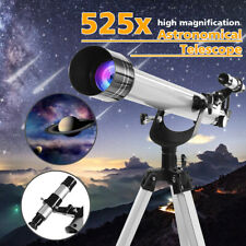 Refractor Astronomical Telescope 525x High Magnification + Tripod For