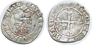 DUCHÉ DE BOURGOGNE - JEAN SANS PEUR Gros Saint-Laurent 18/04/1419 Bd.1226