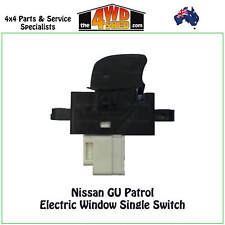 POWER WINDOW SWITCH SINGLE fit NISSAN GU PATROL Y61 1997-2012 ELECTRIC BUTTON