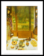 Pierre bonnard le petit-déjeuner chambre poster image Art pression dans le cadre alu 36x28cm