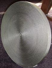 Gewebegurtband Band Gurtband Gurt Weidenzaun oliv ca. 3,2-3,3cm breit 45-50m