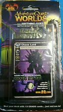 ADVENTURE QUEST WORLDS Chaos Mod Pack SEALED with code cards