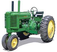 John Deere Model 5010 canvas art print by Richard Browne farm tractor
