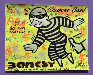 Will $treet original painting 🏴☠️/ Monopoly Art banksy dismaland invader Alec