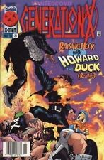 GENERATION X #21 WITH HOWARD THE DUCK MARVEL X-MEN COMIC BOOK 1996 BEAST EMMA 1