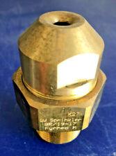 "GW SPRINKLERS Fyrhed - M,D,E,WD,WE,WL Brass Spray Nozzles High Velocity 1"" NPT"