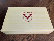 *Very Rare* Visconti Ragtime Green Special Edition Fountain Pen Set BOX & PAPER