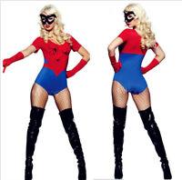 Adult Superhero Costumes Spider Women Disfraces Carnaval Cosplay Costume