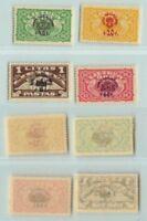 Lithuania 🇱🇹 1924 SC CB1-CB4 mint . d9654