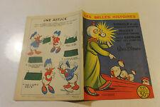 LES BELLES HISTOIRES DE DISNEY  45 octobre 1957 DONALD et les soucoupes volantes