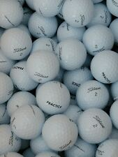 (50) 2019 NEW  Titleist Pro V1 Practice Golf Balls - White