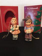 Lot Of 2 M I Hummel Christmas Tree Ornaments
