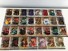 Bakugan Battle Brawlers Magnetic Metal Cards - Lot of 31