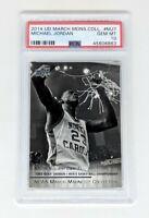 2014-15 Upper Deck March Madness Collection #MJ7 Michael Jordan PSA GEM MINT 10
