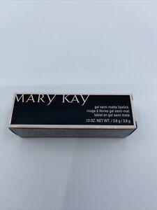 Mary Kay Gel Semi Matte Lipstick Red Stiletto New In Box