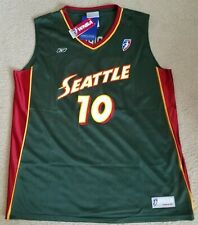 SUE BIRD WNBA OFFICIAL LICENSED SEATTLE STORM REPLICA JERSEY SIZE LARGE
