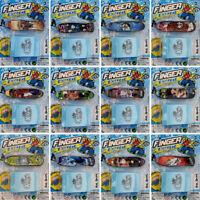 Finger Skateboard Fingerboard and Ramp Kids Table Deck Mini Toy Stocking Filler