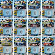 Tabla de diapasón Skate Niños DEDO PATINETA Cubierta Mini Juguete Stocking Relleno