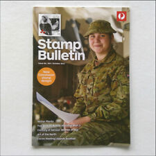 Australia Post Stamp Bulletin Issue No. 349 October 2017 Women In War