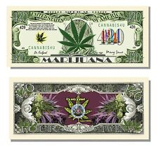 100 Factory Fresh Medical Marijuana 420 Dollar Bills - Hot Seller!