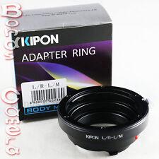 Kipon Leica R L/R LR mount lens to Leica M Adapter M8 M9 M-E M 240 Ricoh GXR A12