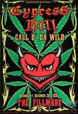 Cypress Hill F205 Fillmore Poster