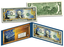 THE STARRY NIGHT 1889 Vincent Van Gogh *Masterpieces* Legal Tender $2 U.S.A Bill