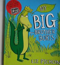 LIZ PICHON My Big Brother Boris NEW, FREE POST