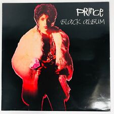 Prince The Black Album LP Vinyl Record 1988 Unofficial Copy Holland Rare
