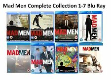 Mad Men Complete Collection Series 1-7 Blu Ray Season 1 2 3 4 5 6 7 UK R2