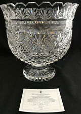 1994 WATERFORD CRYSTAL TRIFLE CENTERPIECE BOWL SIGNED JIM O'LEARY COA LE 51/100