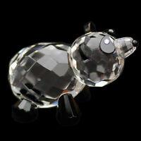 Panda Austrian crystal figurine ornament sculpture RRP$199