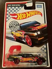 Hot Wheels 2017 Racing Circuit Buick Grand National Black #6/10 (Lot of 3) *NEW*