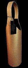 """Gold Cellini Sparkle 13"""" Wine Bottle Tote  BRAND NEW"""