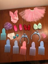 1988 Hasbro My Beautiful Doll Outfit & Accessories 20 Pieces