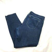 Gap Womens Jeans Size 16 Dark Wash Legging Skinny Stretch Rinsed Denim