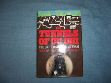 THE TUNNELS OF CU CHI by Tom Mangold/HCDJ/Militry/War/Vietnam War/Illustrated