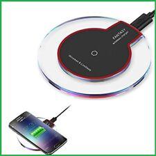 Qi Wireless Ladestation Charger Ladegerät kabellos Induktion iPhone und Samsung