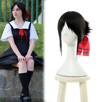 Kaguyasama Love is War Shinomiya Kaguya Black Short Straight Cosplay Hair Wig