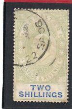 Gibraltar EV11,1904-08 2s. green & blue sg 62 Used