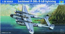 Trumpeter 1/32 Lockheed P-38L-5-LO Lightning # 02227