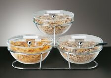 buffetgestell, buffetständer, estantería, Big , 7 piezas, 50x50x18 cm, con tapa