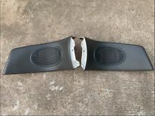 93-97 Honda Civic Del Sol Oem Rear Left & Right Speak Covers Gray Used Eg2