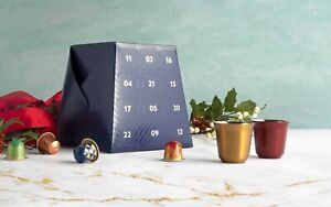 Nespresso 2020 Original Festive Limited-Edition Advent Calendar (23 Pods 2 Cups)