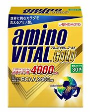AJINOMOTO Amino Vital GOLD 30 sticks Amino acid 4000mg F/S w/Tracking# Japan New