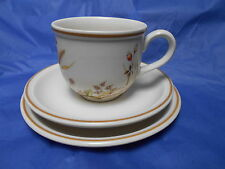 HARVEST MARKS & SPENCER trio cup saucer tea/ side plate